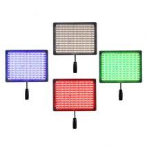 Kit lumina continua Lampa Yongnuo YN600RGB+ 2x Acumulatori Dste NP F+ incarcator+ stativ