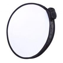 Mini softbox circular 40cm pentru blitz speedlite