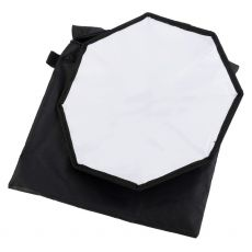 Mini softbox octogonal 30cm pt blitz speedlite