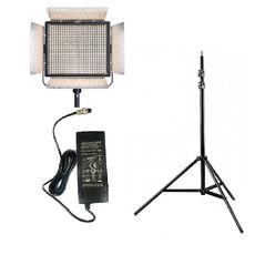 Kit lumina continua Lampa Yongnuo YN900II 3200-5500K + stativ + alimentator