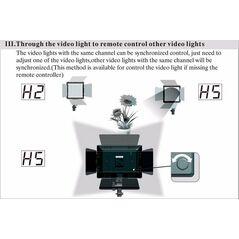 Yongnuo YN600L II Lampa foto-video panou LED 600 LED-uri, CRI 95, 3200-5500K cu telecomanda si control wireless prin smartphone