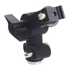 Suport orientabil D-type blitz speedlite cu menghina umbrela si adaptor spigot