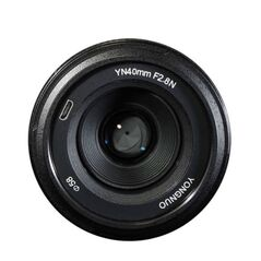 Obiectiv Yongnuo YN 40mm f2.8 pentru Nikon
