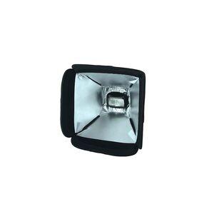 Diffuser mini-softbox pliabil 23x23cm pentru blitz-uri pe patina cu prindere velcro