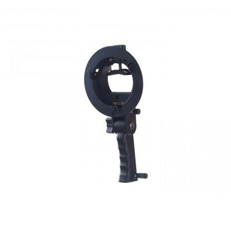 S-type Grip Adaptor montura Bowens - blitz speedlite cu grip