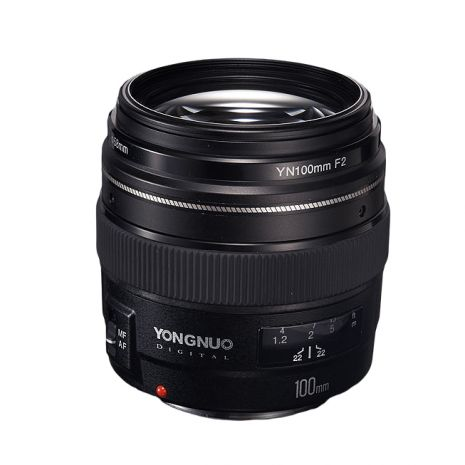 Yongnuo YN 100mm f2 pentru Canon EF