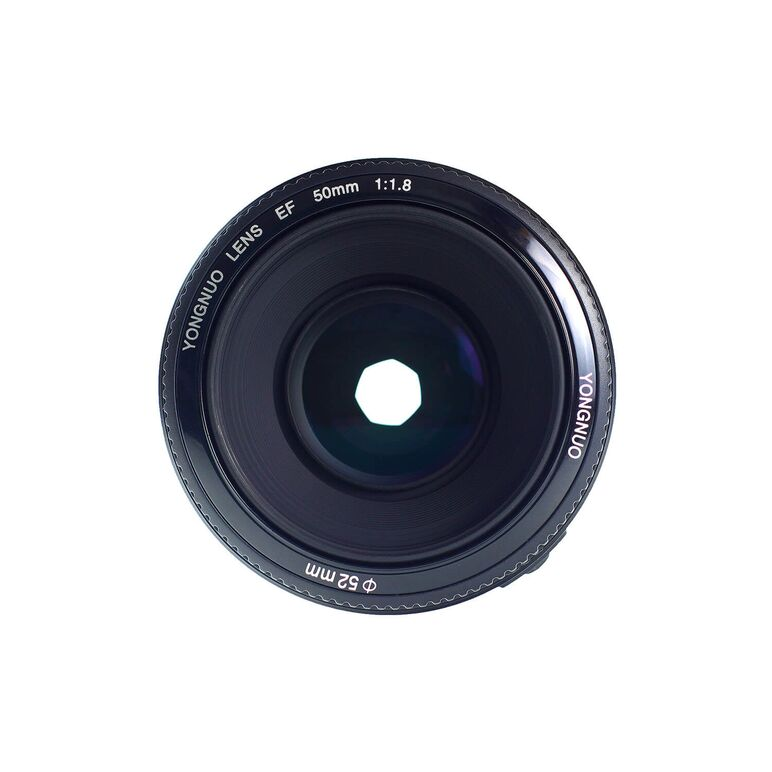 Yongnuo YN 50mm f1.8 pentru Canon EOS